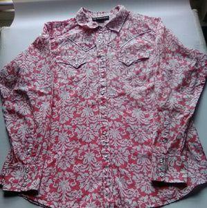 Ariat Western Shirt Womens XL